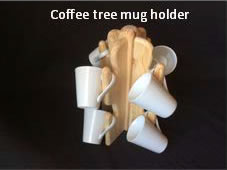 Coffee Tree Mug Holder